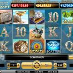 Jackpot valt opnieuw bij Mega Fortune Dreams van NetEnt